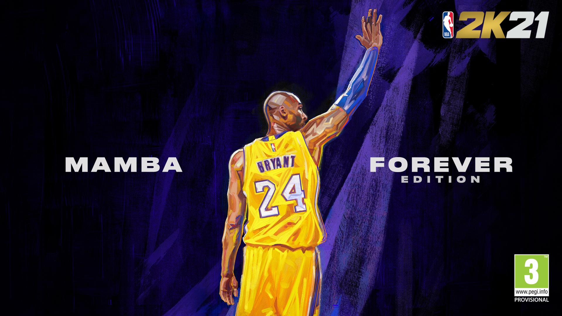 """El homenaje que le faltaba a Kobe Bryant: NBA 2K21 anunció la edición """"Mamba Forever"""""""