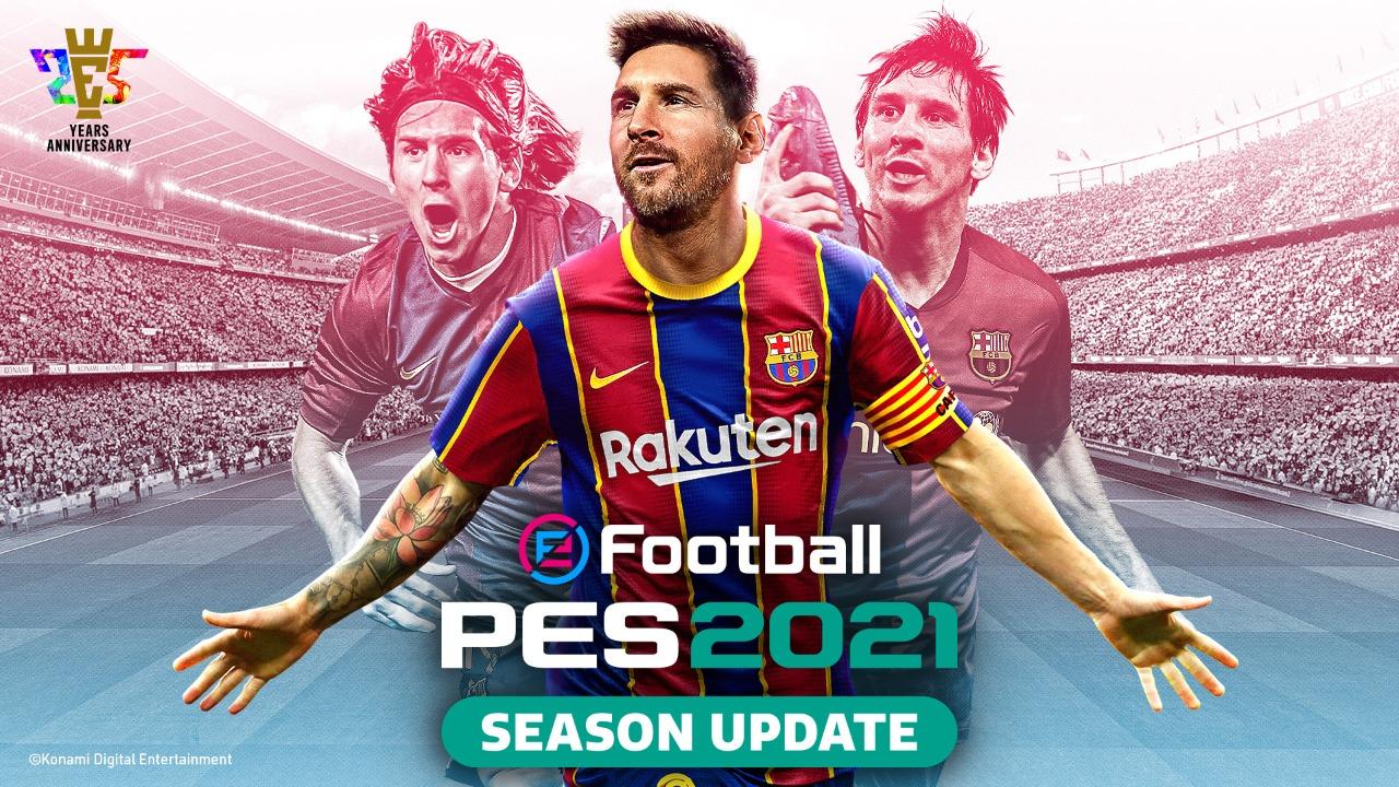 Konami confirma Pro Evolution Soccer 2021 Season Update para el 15 de septiembre y da indicios del valor que podría tener