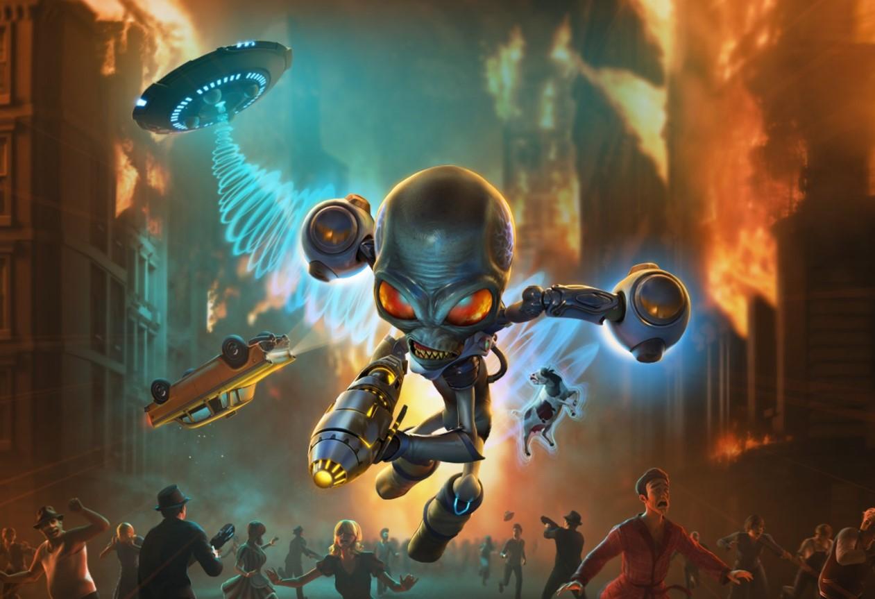 Novedades de la semana: Destroy All Humans! se remasteriza en una entrega para exterminar humanos con gráficos de 2020