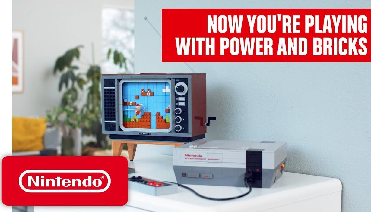 El set de Lego NES esconde un easter egg de Super Mario Bros.