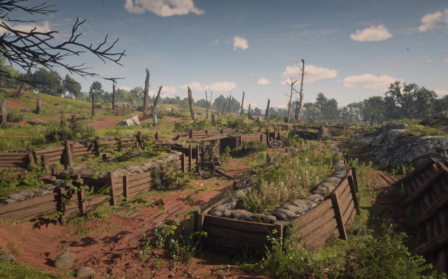 Lograron resolver un gran misterio de Red Dead Redemption 2: los fantasmas de Bolger Gate