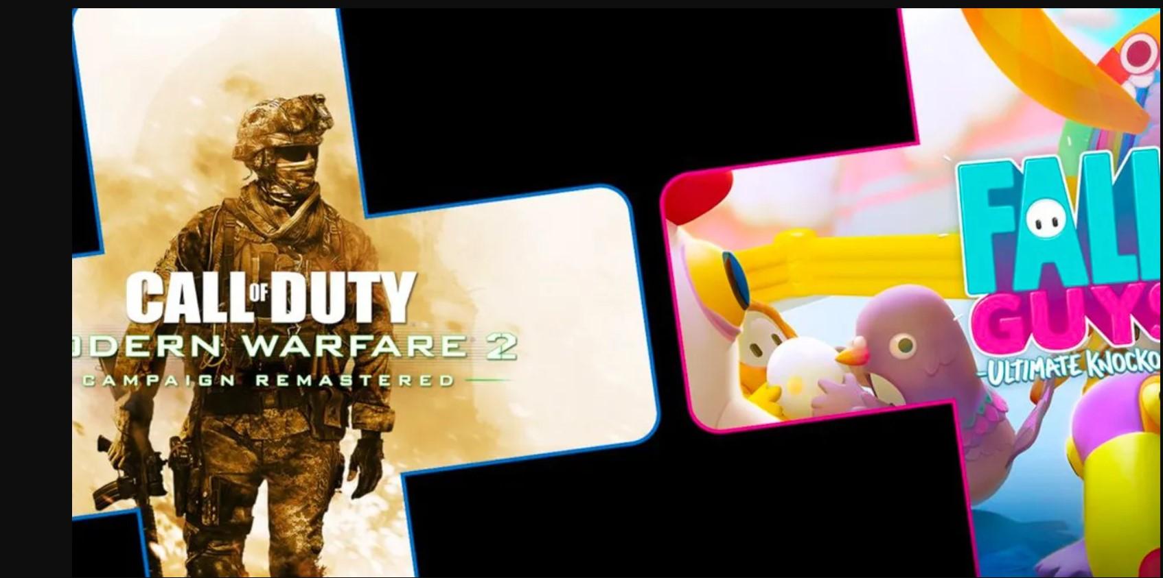 Call of Duty: Modern Warfare 2 Remastered y Fall Guys: Ultimate Knockout, los juegos de agosto de PS Plus