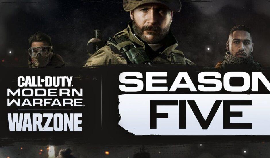 Activision dio a conocer el primer tráiler para la quinta temporada de Call of Duty: Modern Warfare y Warzone