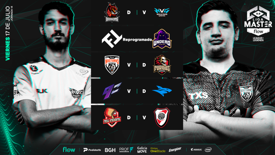 Liga Master Flow de League of Legends: tres equipos luchan por la punta y el primer puesto en los playoffs