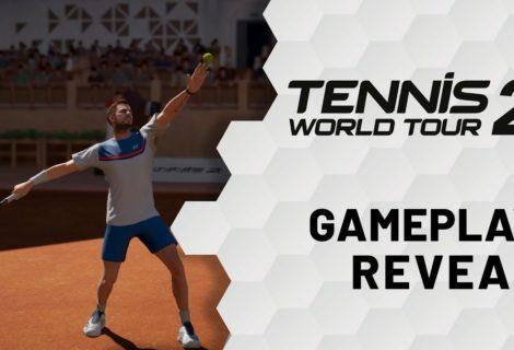 Revelan el primer adelanto de Tennis World Tour 2 completamente renovado
