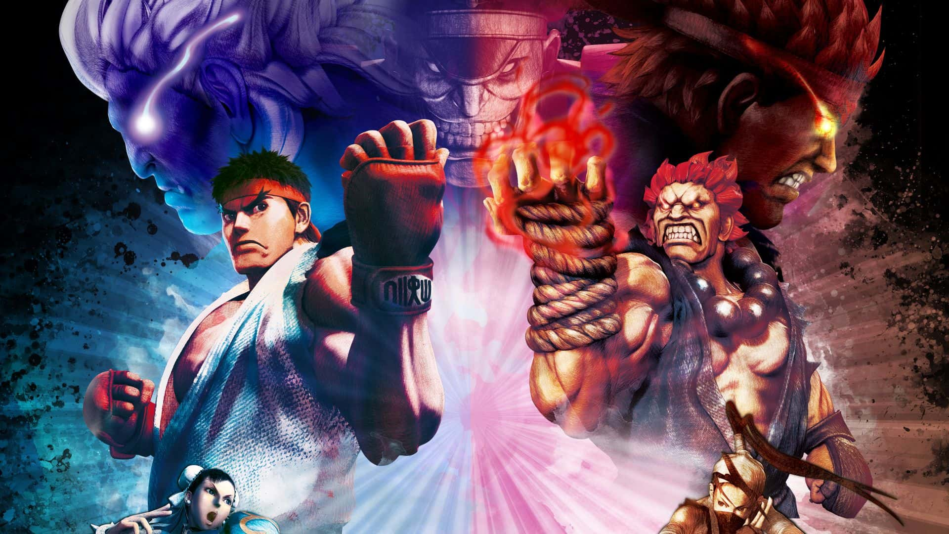 Capcom libera Street Fighter V antes del lanzamiento de una mega actualización