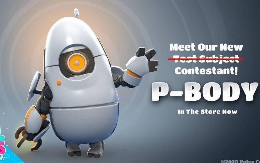 P-Body: el crossover entre Portal y Fall Guys ya se puede usar en el juego del momento
