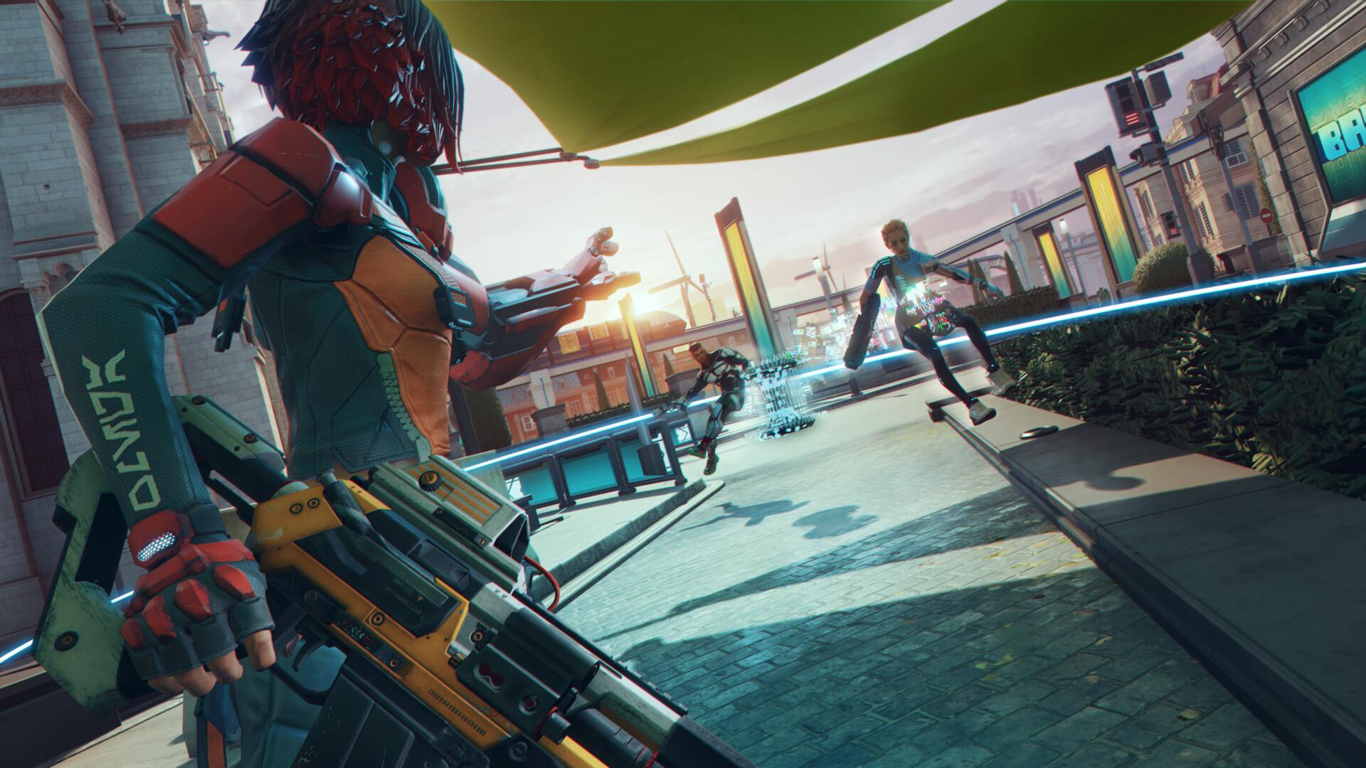 Lanzan Hyper Scape: el Battle Royale gratuito de Ubisoft llegó a PS4, Xbox One y PC