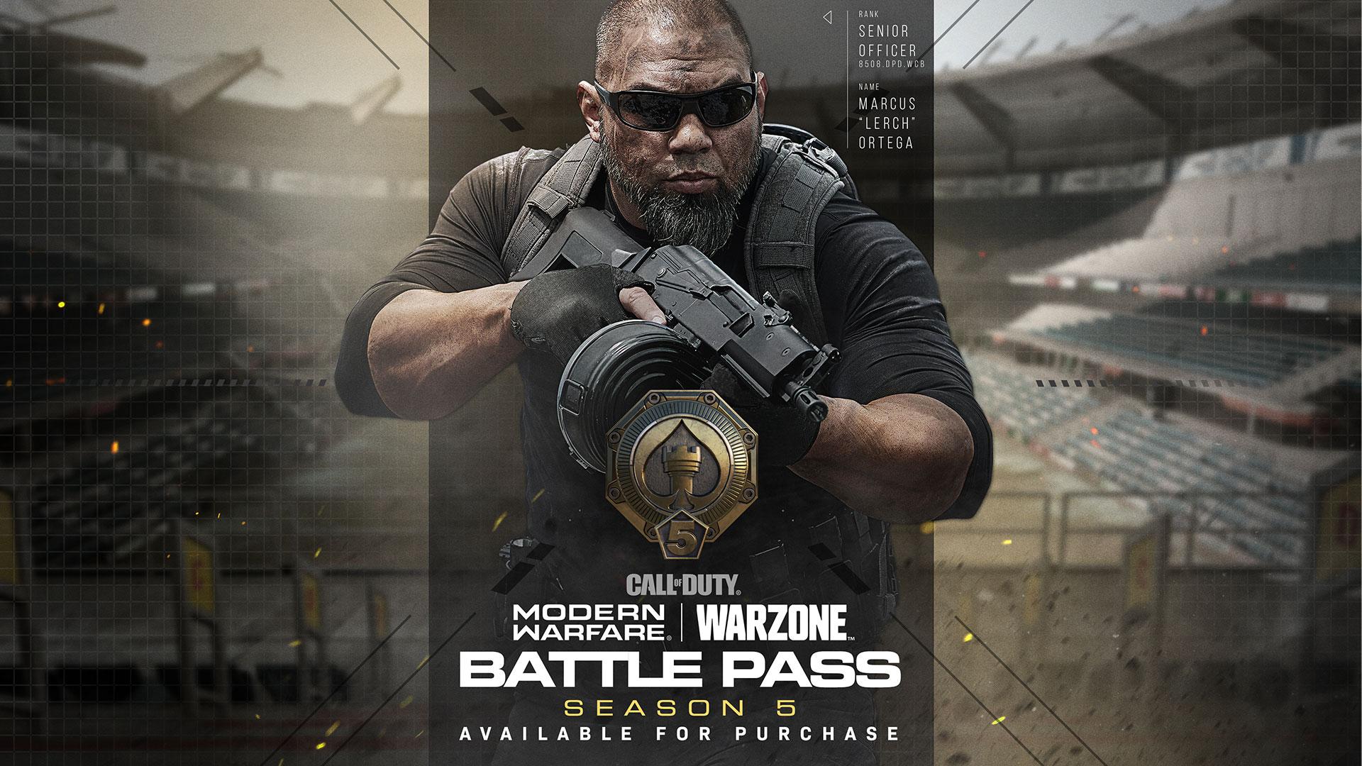 Call of Duty: Modern Warfare y Warzone se actualiza: Pase de Batalla, mapas y operadores de la Temporada 5
