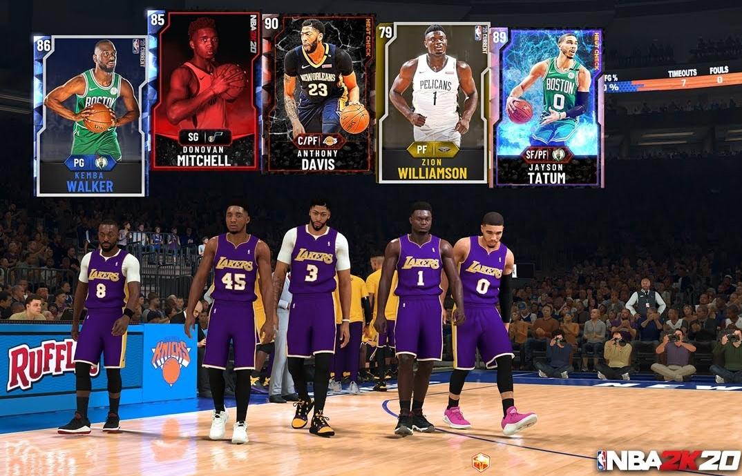 El progreso de MyTEAM en NBA 2K21 se podrá transferir a los juegos de las consolas de la próxima generación