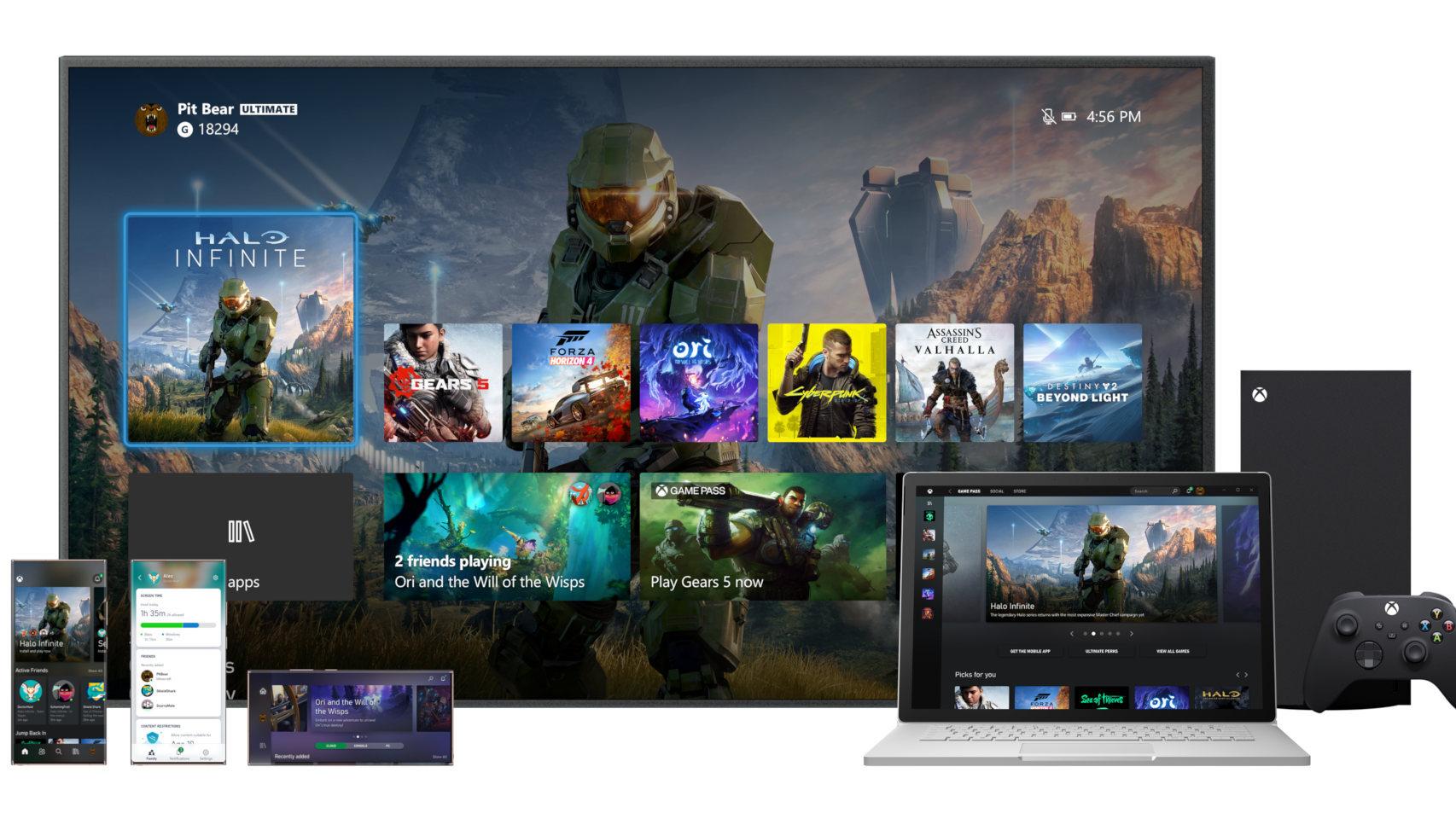 Revelan la lista con 30 videojuegos optimizados para cuando lleguen a Xbox Series X y S
