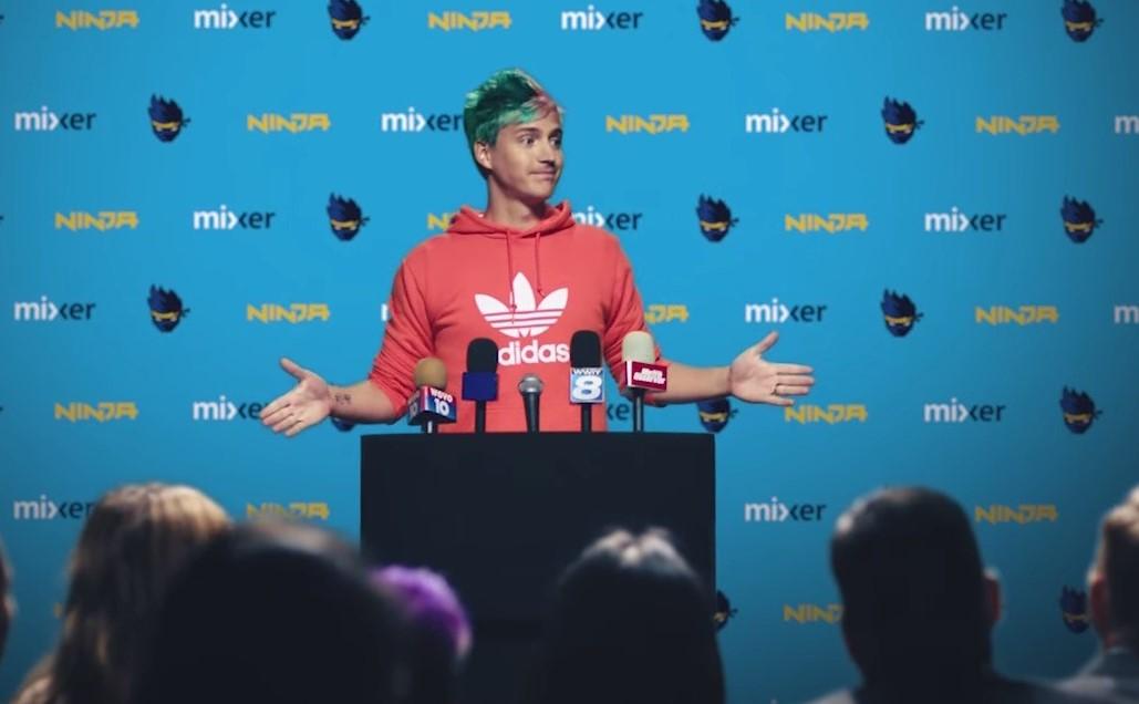 Ninja volvió a Twitch luego del cierre de Mixer