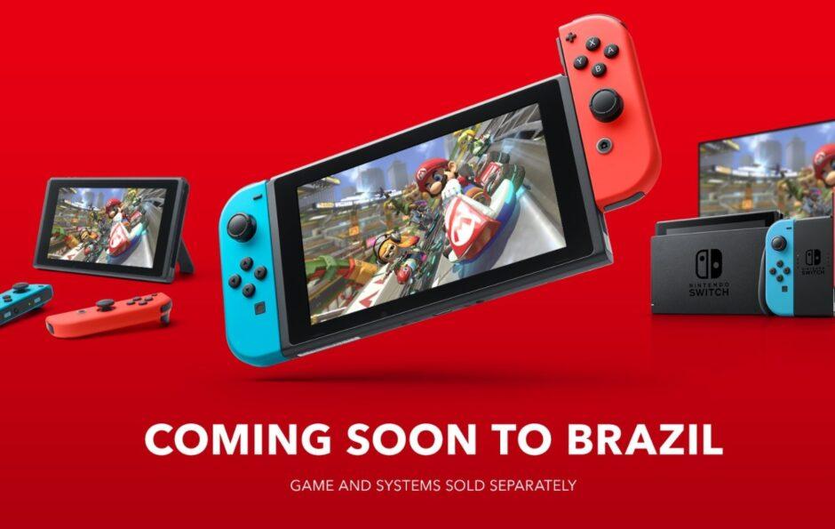 Nintendo confirmó la llegada de Switch a Brasil, mercado donde no estaba de manera oficial