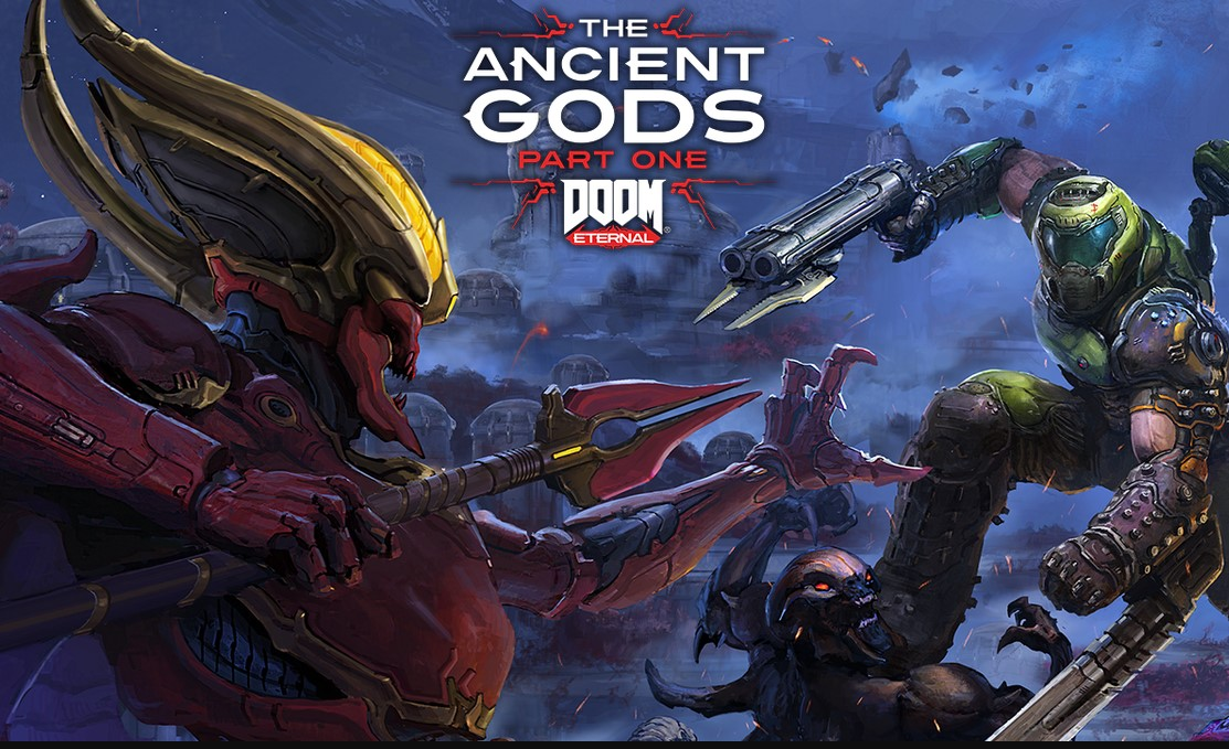 "Doom Eternal anunció su DLC en la QuakeCon: ""Ancient Gods"""