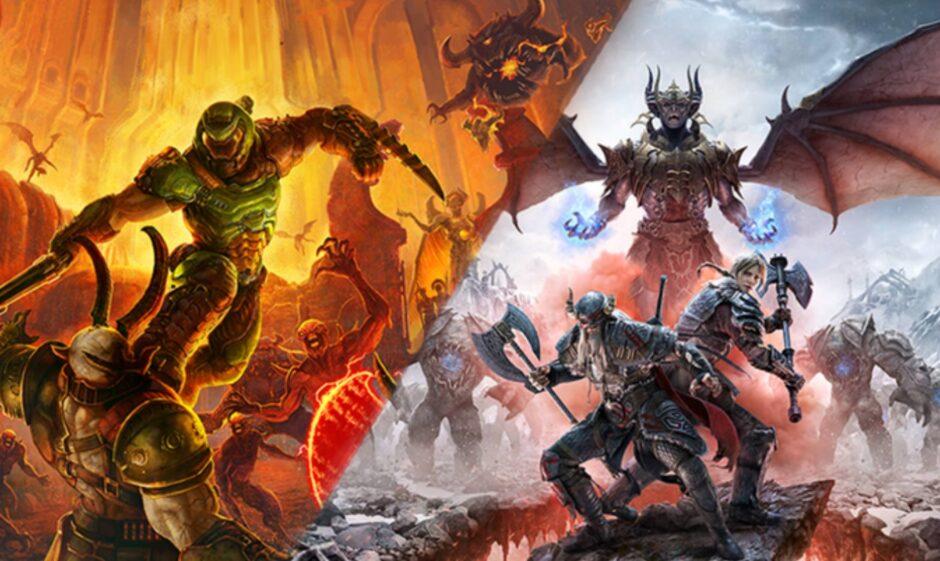 DOOM Eternal y The Elder Scrolls confirmaron su presencia en Xbox Series X y PlayStation 5