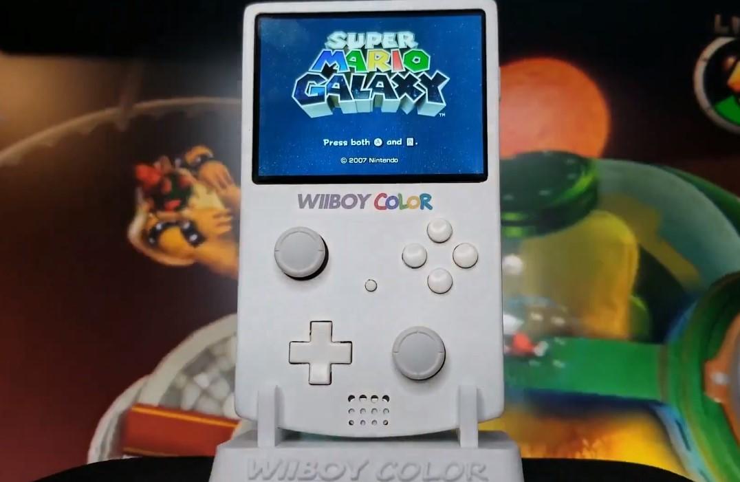 Wiiboy Color: un mod que transforma a una Wii en portátil y se ve espectacular