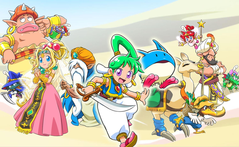 Se presentó el primer tráiler de Wonder Boy: Asha in Monster World y se dieron a conocer en las plataformas que estará disponible