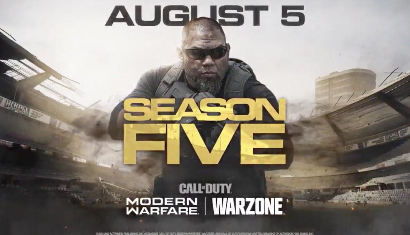 La Temporada 5 de Call of Duty: Modern Warfare y Warzone tiene tráiler oficial: Verdansk no volverá a ser lo mismo
