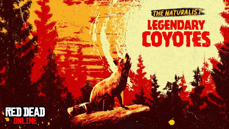 Red Dead Online, novedades de la semana: un coyote legendario, bonificaciones de comerciantes y cazarrecompensas