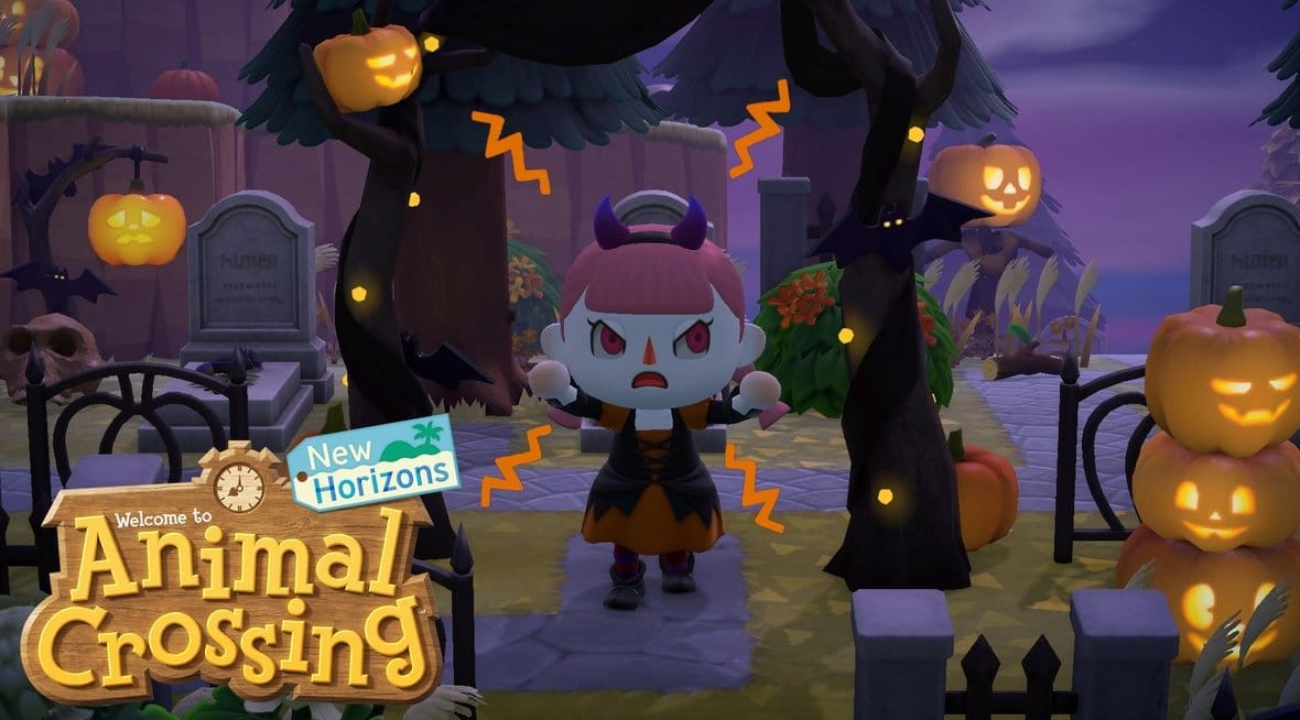 Animal Crossing: New Horizons da a conocer su actualización de Halloween