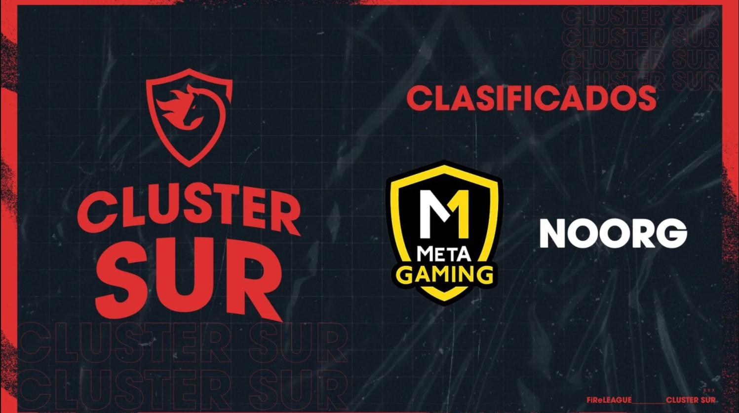Cluster SUR de la FiReLEAGUE confirmó a sus 10 equipos de Counter Strike: Global Offensive