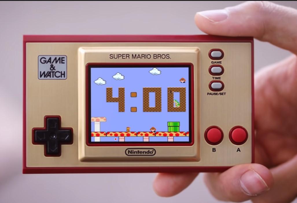 Nintendo mostró cómo será el Game and Watch de Super Mario Bros. en un nuevo video