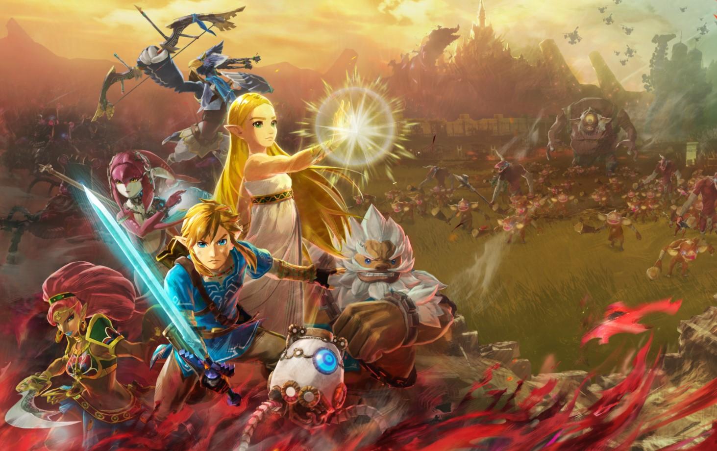 Nintendo anunció una novedad de The Legend of Zelda y es una precuela de Breath of the Wild: Hyrule Warriors: Age of Calamity