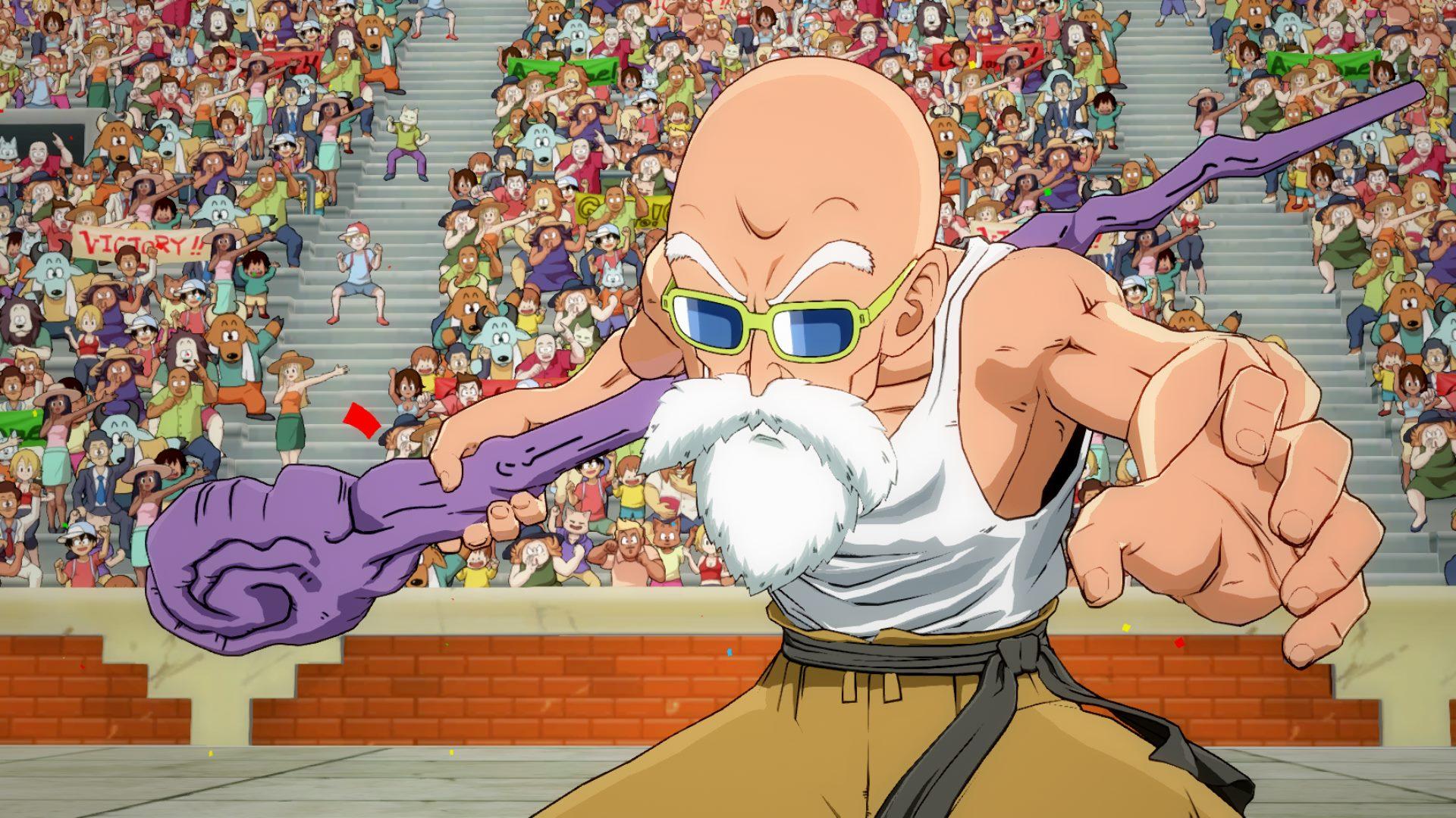 Master Roshi se unirá a Dragon Ball FighterZ a partir de la próxima semana