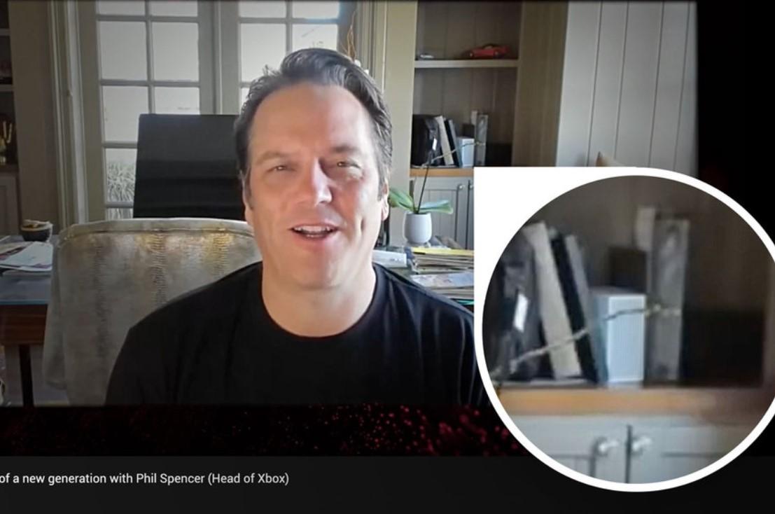 Nadie se dio cuenta, pero Phil Spencer mostró la Xbox Series S en julio en su propia casa