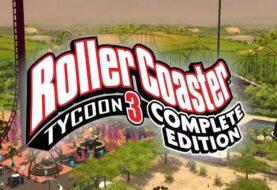 RollerCoaster Tycoon 3: Complete Edition ya se puede descargar de forma gratuita en la Epic Games Store