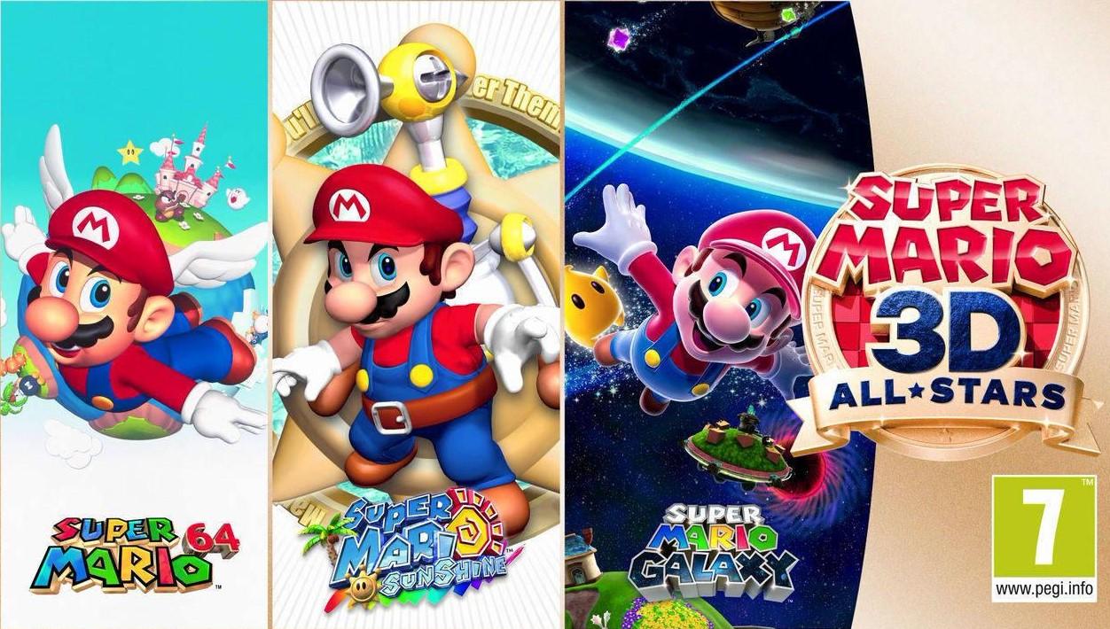 Novedades de la semana: el 35 aniversario de Mario Bros nos trae un All Stars de 3 hits del universo 3D de Mario
