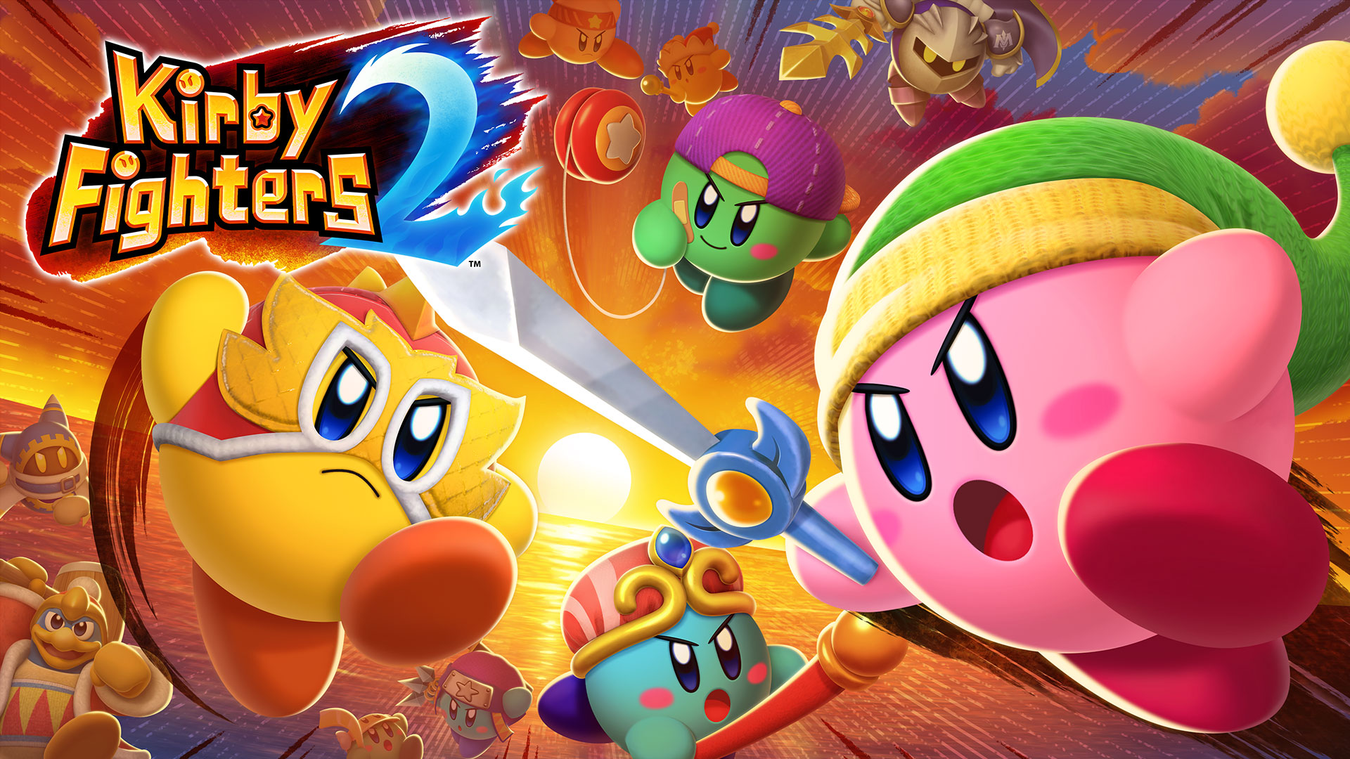 Kirby Fighters 2 llegó a la Switch: nuevos personajes, más habilidades y multijugador en línea