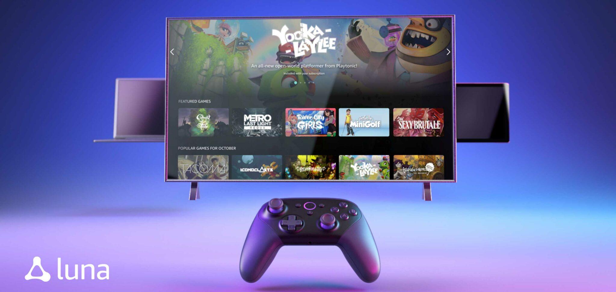 Presentaron Amazon Luna: el servicio de cloud gaming que competirá con Google Stadia o Project xCloud