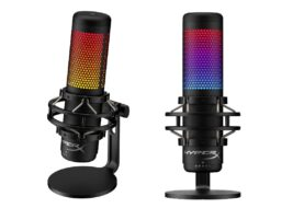 HyperX presentó su nuevo micrófono RGB QuadCast S para streamers