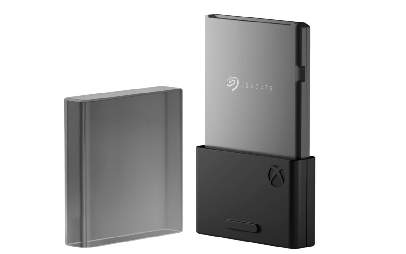 """Seagate presentó la """"memory card"""" de la Xbox Series X: su tarjeta de expansión SSD de 1TB"""