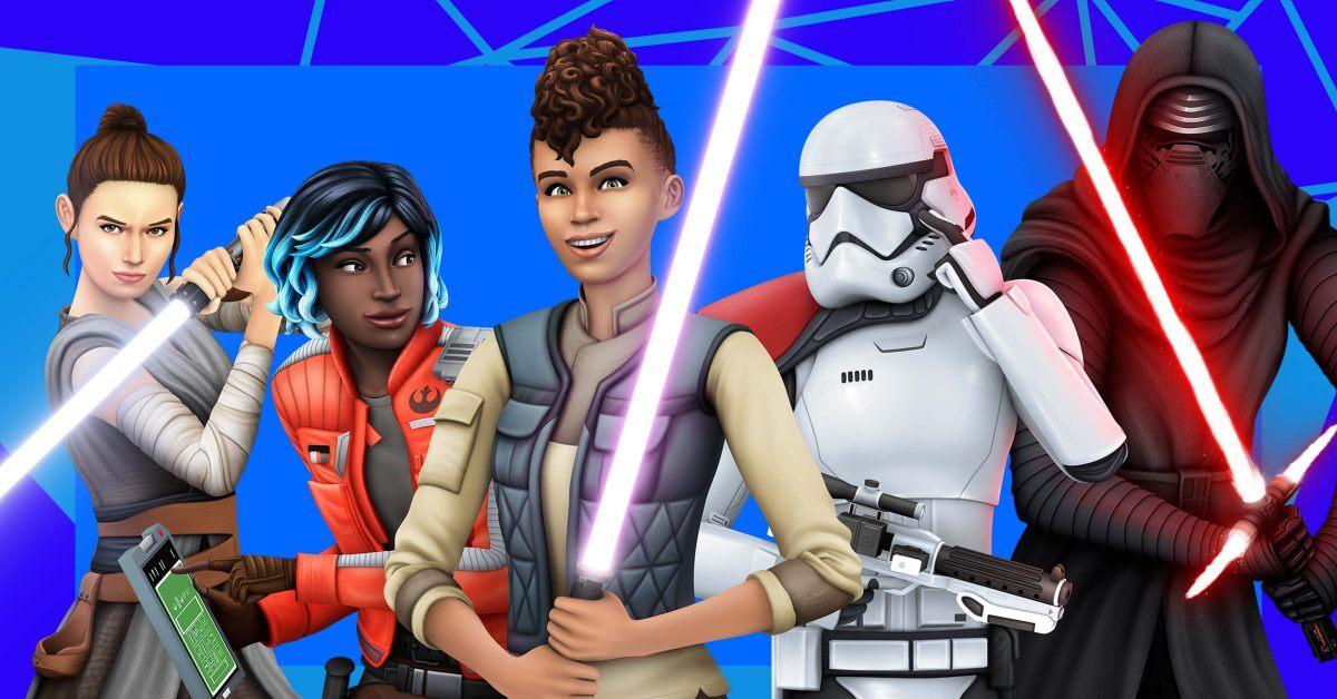 Rey y Kylo Ren llegaron a Los Sims 4: cómo es el nuevo DLC Star Wars: Viaje a Batuu