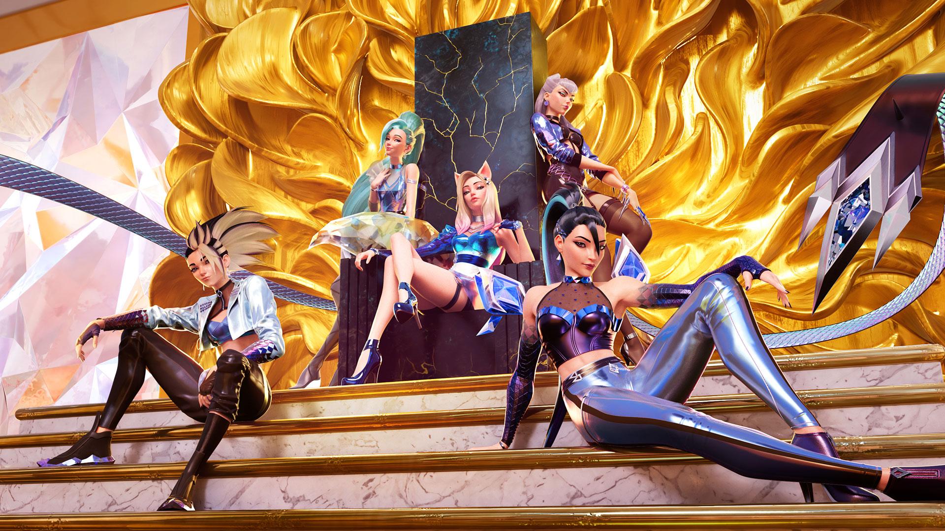 """League of Legends: K/DA presentó su nuevo hit """"More"""" con el debut de la campeona Seraphine"""