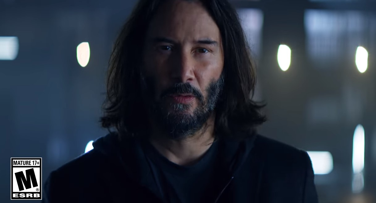 Keanu Reeves protagoniza el tráiler de Cyberpunk 2077