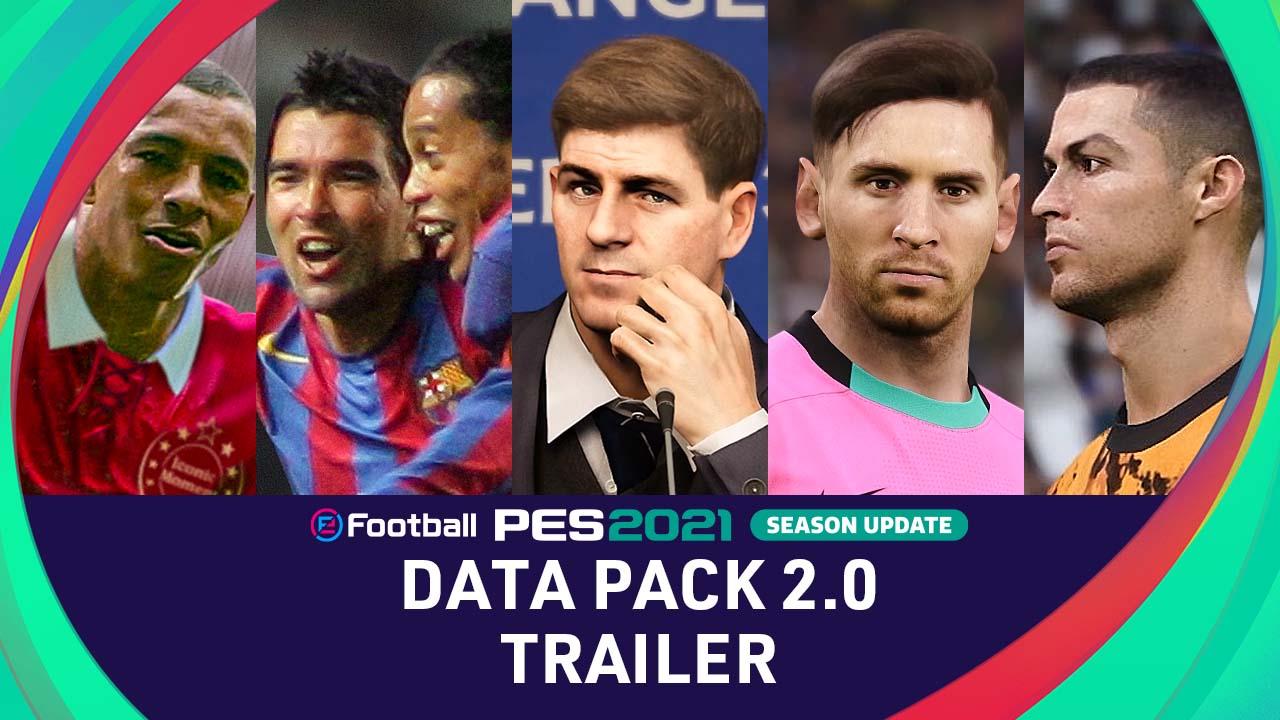 PES 2021 Season Update se actualiza: todos los detalles del paquete 2.0