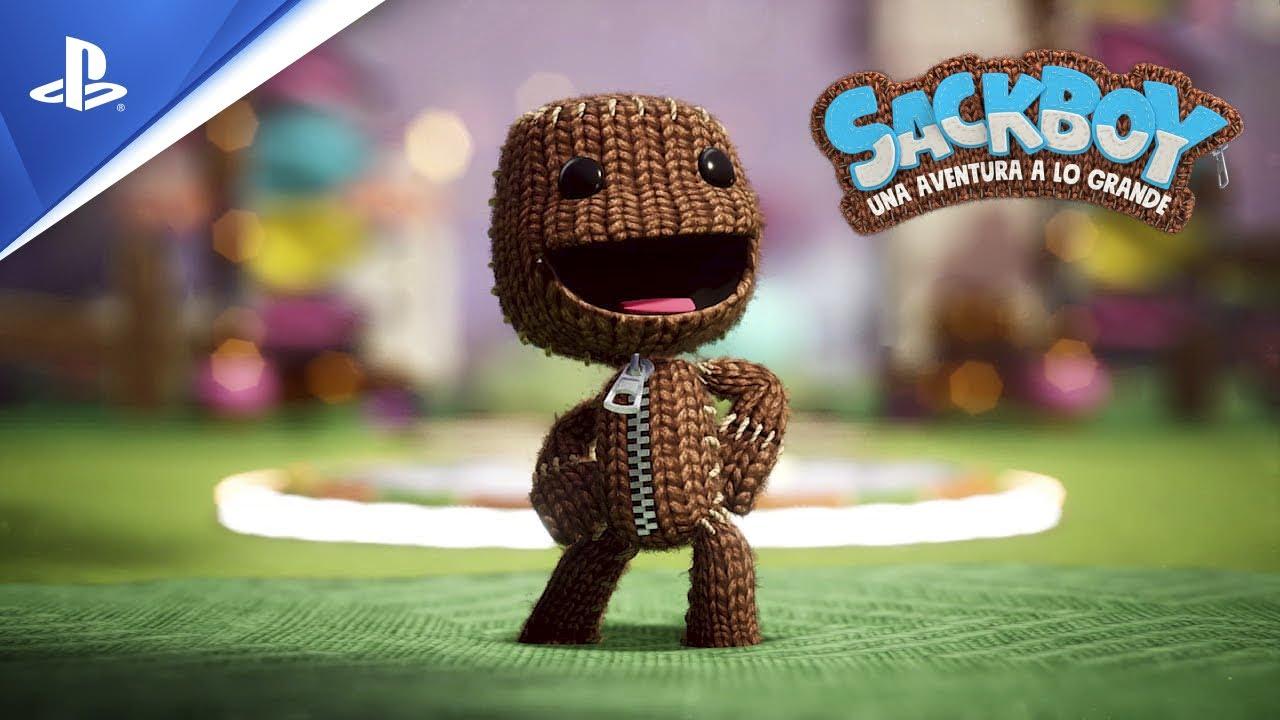 Sony publicó el tráiler de Sackboy: Una aventura a lo grande y ya cuenta con fecha de lanzamiento