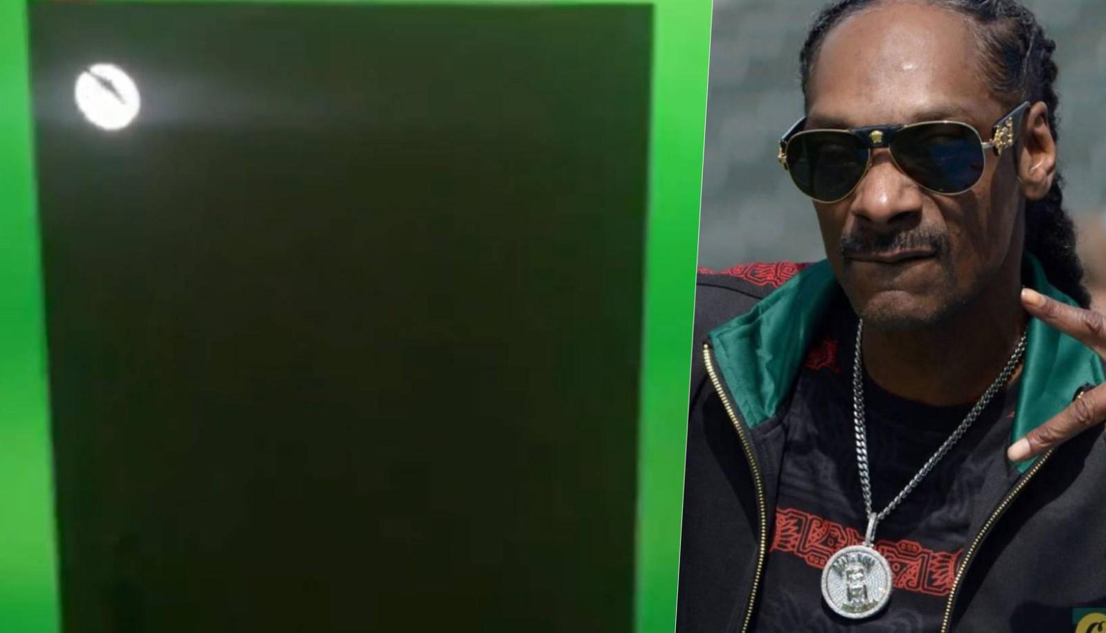 Microsoft le envió una heladera (de verdad) a Snoop Dogg y tiene forma de Xbox Series X