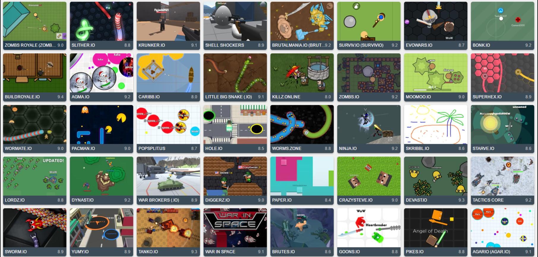 Los juegos .IO ganan popularidad: cuáles son y por qué los eligen los gamers