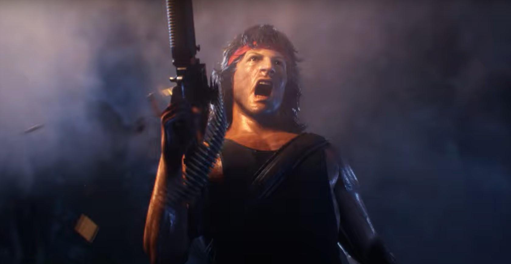 Rambo empieza a tener acción en Mortal Kombat 11