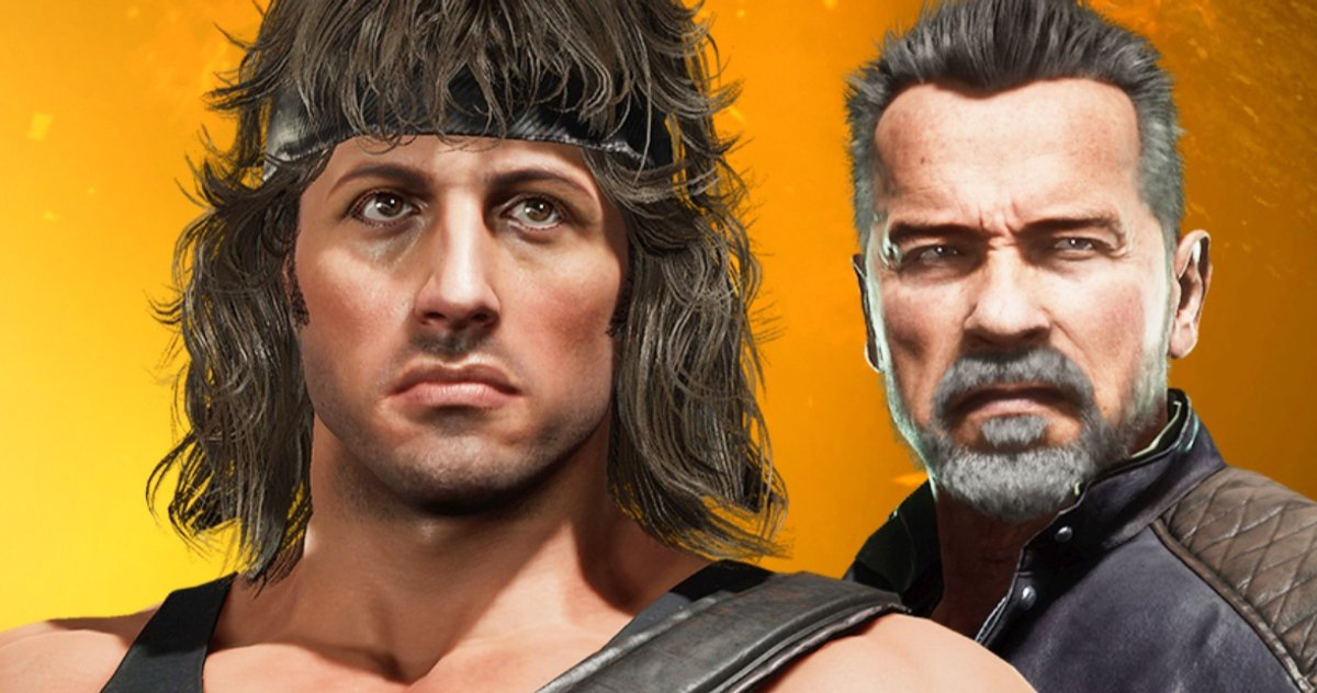 Rambo vs. Terminator: los protagonistas del nuevo tráiler de Mortal Kombat 11
