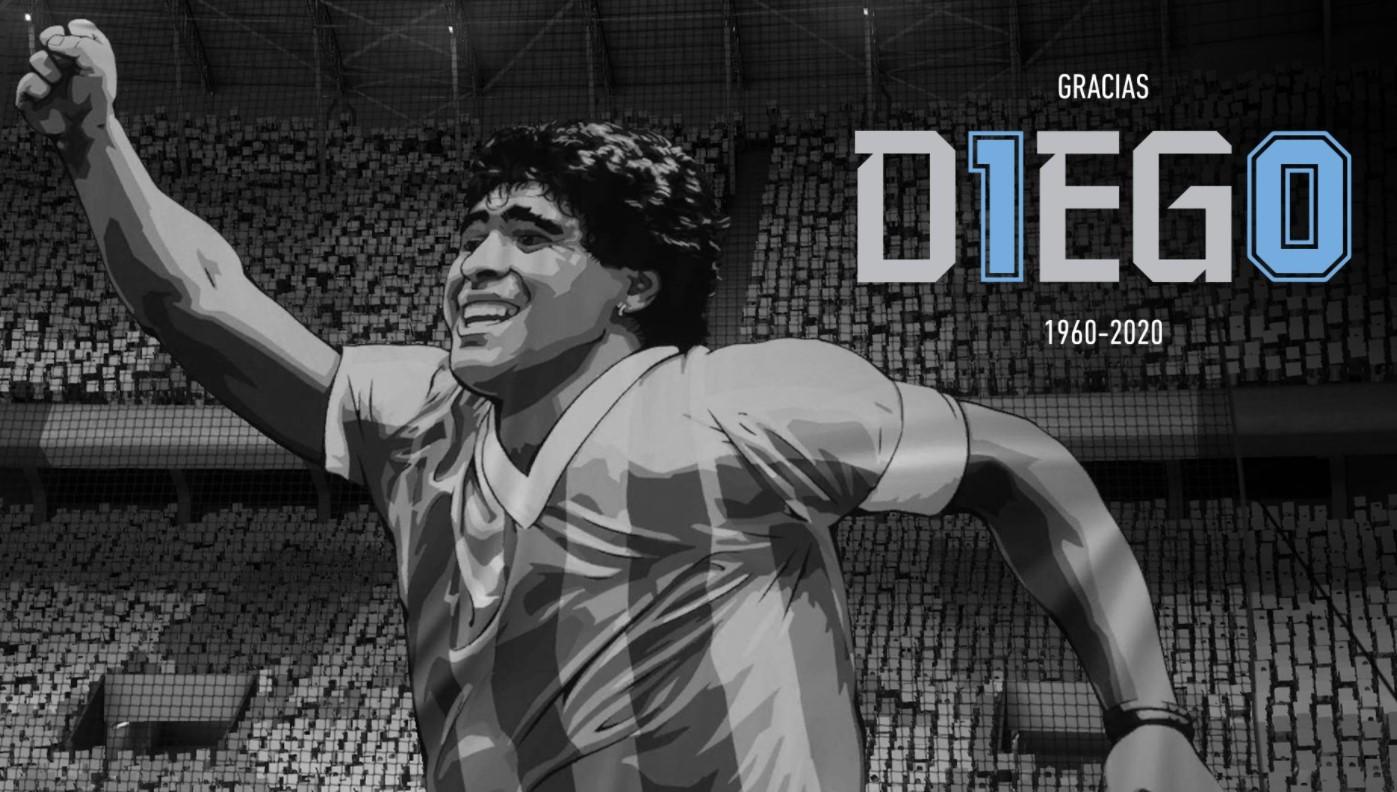 "FIFA 21 le rinde homenaje a Maradona: ""Gracias, Diego"""