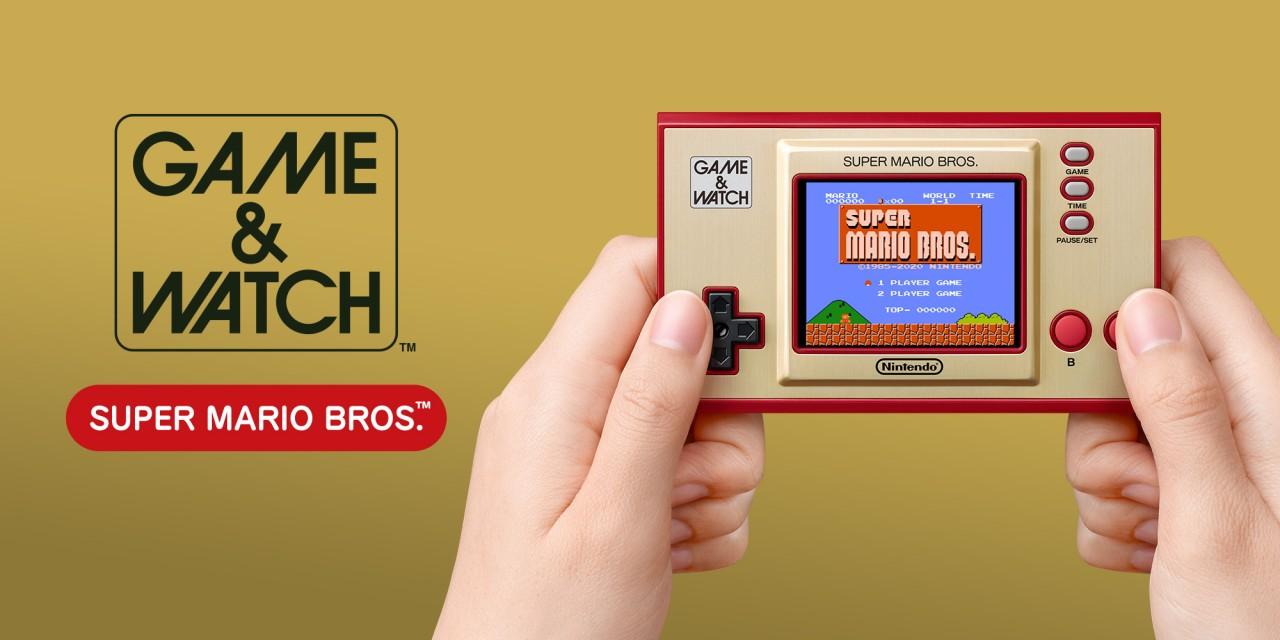 Nintendo prepara el lanzamiento de Game & Watch: Super Mario Bros