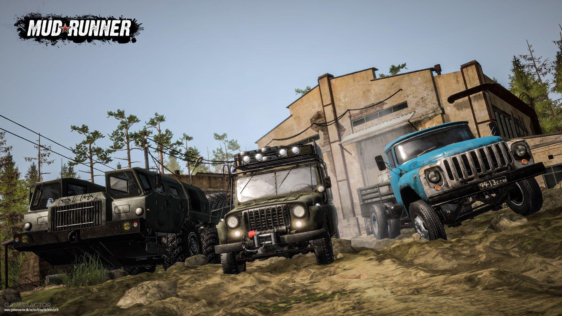 Ya se puede descargar de forma gratuita MudRunner a través de Epic Games Store