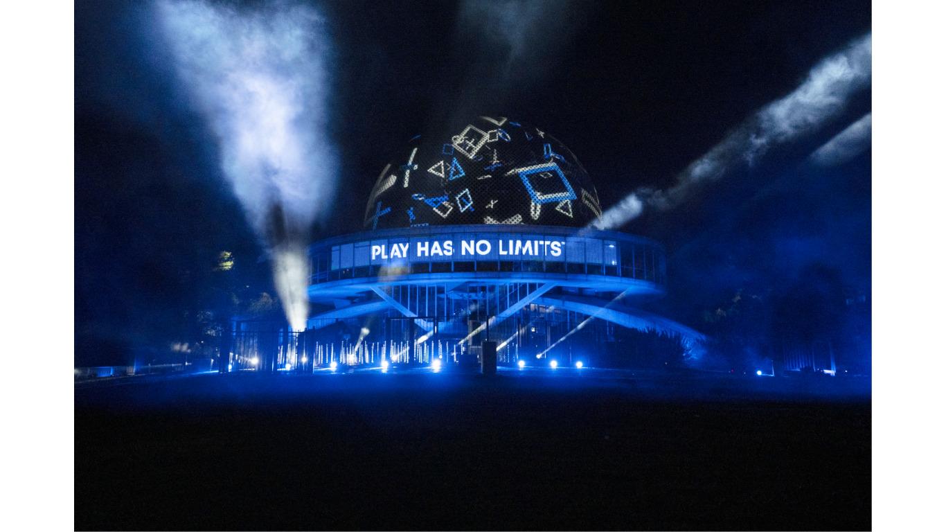 Argentina celebró el lanzamiento de PlayStation 5 con un show en el Planetario