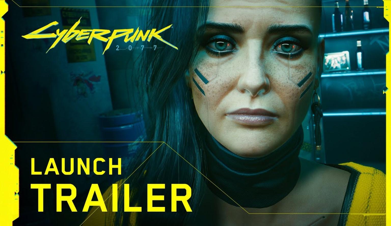 Cyberpunk 2077 estrenó su tráiler de lanzamiento: el video