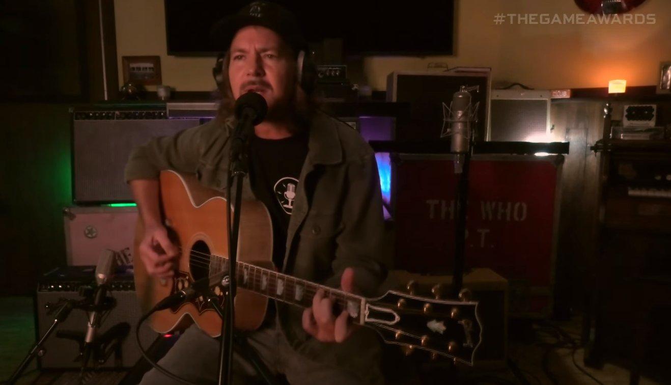 Eddie Vedder cantó en los Game Awards un acústico de The Last of Us Parte 2